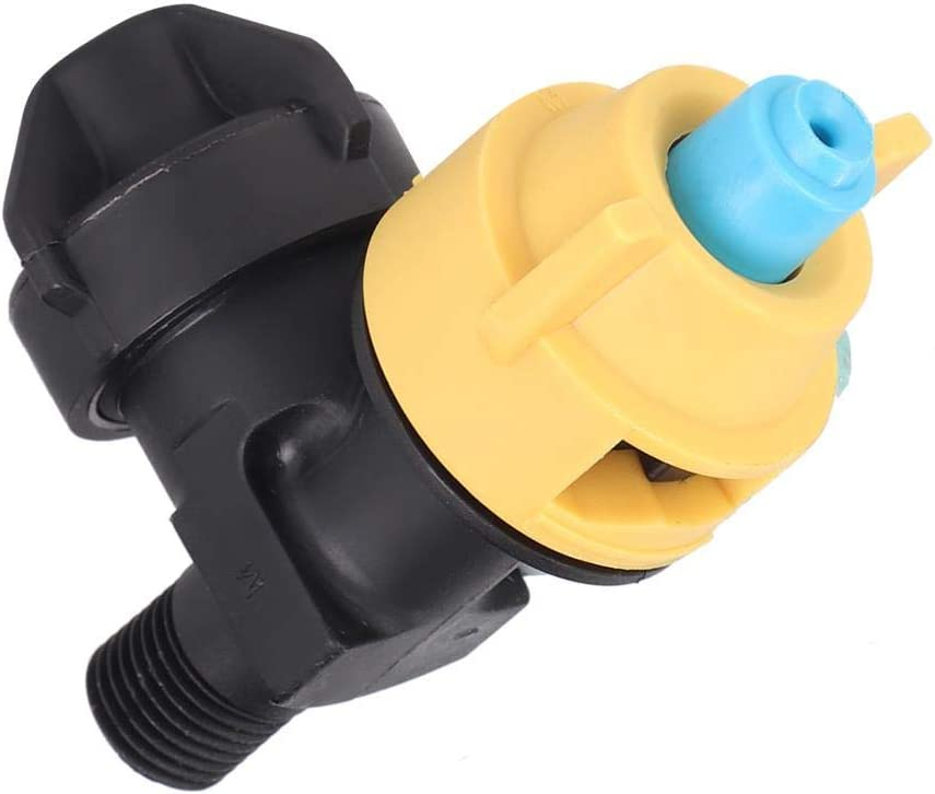 Cooling Nozzle Farm Summer Cooling Water Sprinkler Spray Nozzle with Thread Interface for Chicken Donkey Sheep Pig Cow Horse Duck Large Area Desig 360/°Nozzle