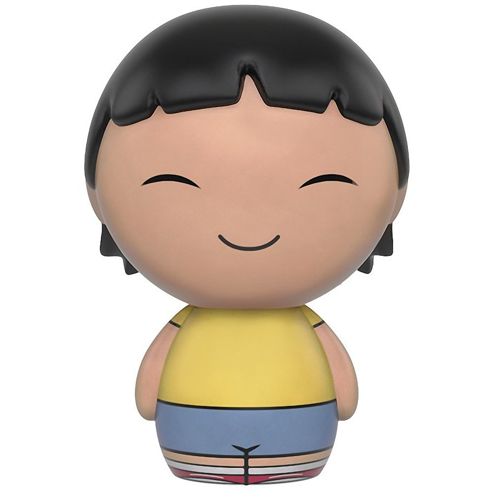 Amazon.com: Gene Belcher: Funko Dorbz x Bobs Burgers Mini Vinyl Figure + 1 FREE American Cartoon Themed Trading Card Bundle (079369): Toys & Games