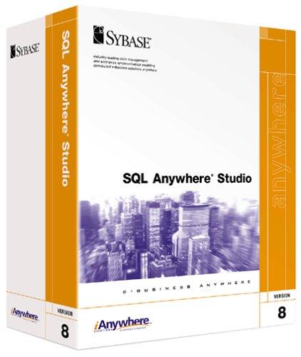 SQL Anywhere Studio 8.0 Base