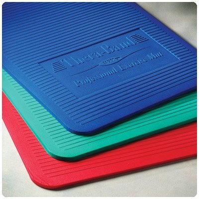 Thera-Band Exercise Mats - Green, 24''W x 75''L x 1''H by Rolyn Prest
