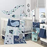 Lambs-Ivy-Oceania-6-Piece-Baby-Crib-Bedding-Set-Blue-Ocean-Nautical-Aquatic-Whale-Octopus-Theme