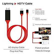 XX HDMI cable IPAD mini Air Pro Turn cable video sync TV projection FOR Phone7 / 6 / 6s / 5/5s/6plus / 6splus
