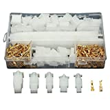 SummerHome 580Pcs 2.8mm Pitch 2 3 4 6 9 Pin Male & Female Plug Housing and Male/female Pin Header Crimp Wire Terminals Connector Assortment Kit