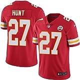 NIKE Men's Kareem Hunt #27 NFL Kansas City Chiefs Jersey Red