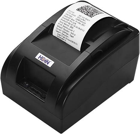 Amazon.com: Aibecy HOIN - Impresora portátil USB pequeña de ...