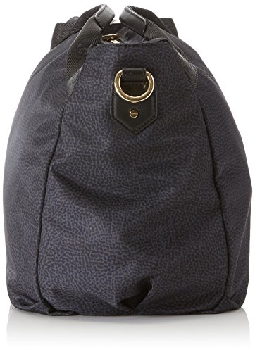 L Nero Donna Cm 32x28x20 Mano Handbag H Borsa Borbonese w X A OxgqHwvw1