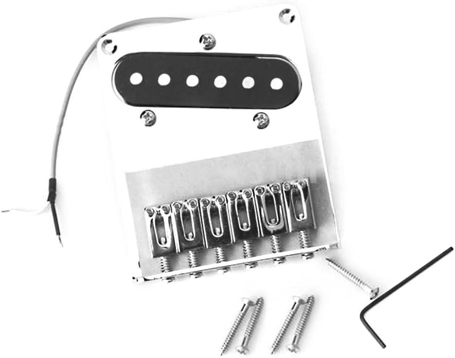 Cromo 6 Puente Silla Y Recogida De Fender Telecaster Guitarra ...