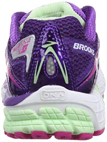 Brooks Ravenna Damen Laufschuhe Violett (Tillandsia Purple/Fuchsia/Patina Green)