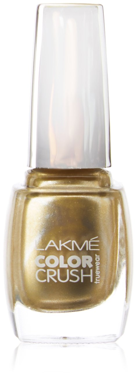 Buy Lakme True Wear Color Crush Nail Gold 01 9 Ml Online At Low Prices In India