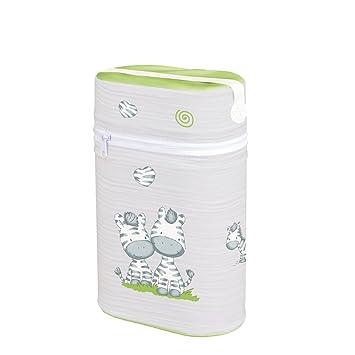 46da5452732d5 Warmhaltebox für 2 Flaschen Isoliertasche Babyflasche Thermobox Tasche  Doppelt ZEBRA