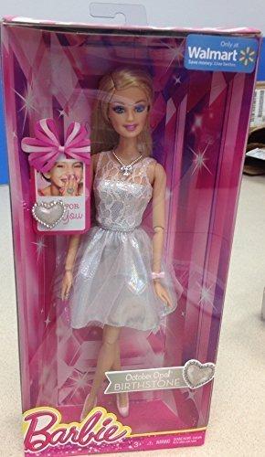 Mattel Birthstone Barbie Doll October Opal October Birthstone Barbie