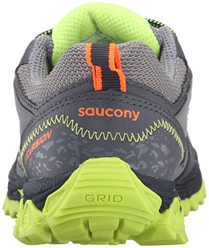 Little Sneaker Little M Citron US Orange Grey Saucony 1 Shield Kid Kid Excursion qAEwFFHtx