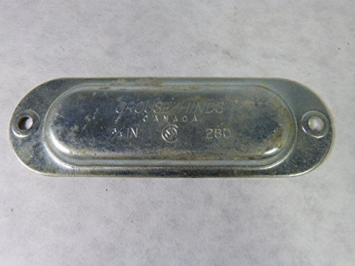 Crouse & Hinds #280 Conduit Body Cover 3/4