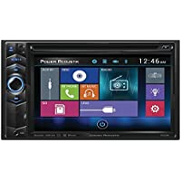POWER ACOUSTIK PD-624B 6.2 Double-DIN In-Dash LCD Touchscreen DVD Receiver with Bluetooth(R)
