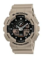 Casio Men's GA100SD-8A G-Shock Military Sand Resin Analog-Digital Watch from Casio