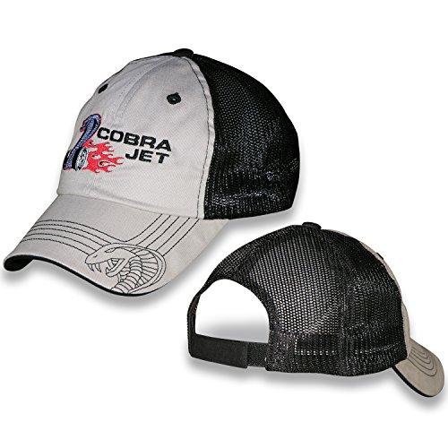 - Shelby Cobra Jet Khaki and Black Mesh Unstructured Hat