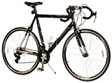 "GMC Denali Road Bike (Extra Large 25""/63.5cm Frame, Black/Silver)"