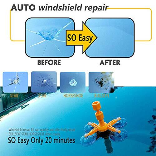 Risse Fenster Scheibe Rep Chip Polieren Kratzer Kit DIY Kratzer Reen Re Auto-Windschutzscheiben-Reparatur Glas