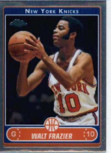 2006 07 Topps Chrome Basketball Card #157 Walt Frazier New York - Ny 157