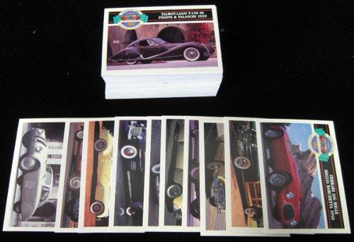 1992 Panini Antique Cars Set (100) NM/MT