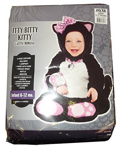 Infant Sized Itty Bitty Kitty Costume 6-12 (Baby Itty Bitty Kitty Costume)
