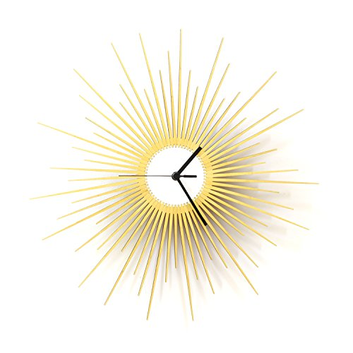 The Big Bang - Stylish Wooden Wall Clock with Glistening...