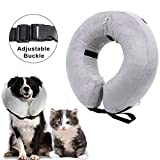 Inflatable Collar for Dogs Recovery Collar Cone for Dogs and Cats Medical Collar Inflatable (Small)