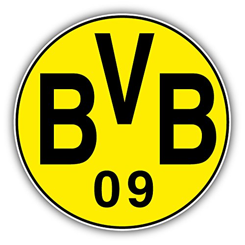 Borussia Dortmund FC Germany Soccer Football Art Decor Vinyl Sticker 5'' X 5''