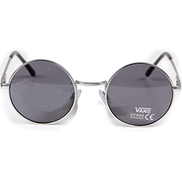 986e30e33a9 Vans Gundry Matte Silver/Dark Smoke Sunglasses: Amazon.co.uk: Clothing