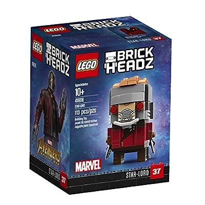 LEGO BrickHeadz Star-Lord 41606 Building Kit (113 Piece): Toys & Games