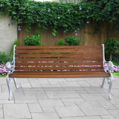 Lookboard 173021 M-M314 Flower Power Side Table, Yellow