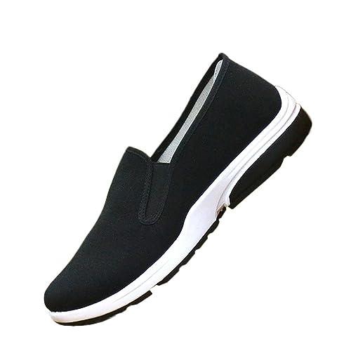 KIKIGOAL Malla Transpirable China Tradicional Viejos Zapatos de Beijing Unisex Rubber Sole Artes Marciales Kung Fu