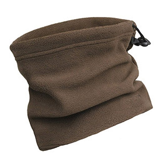 Natuworld Outdoors Work Sport Unisex Polar Fleece Multifunctional Neck Warmer Scarf Hat Thermal Ski Wear Mask Beanie Cs Hat - Available in 6 (Football Fleece Scarf)