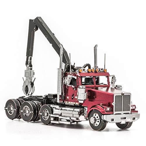 Fascinations Metal Earth Western Star 4900SF Log Truck 3D Metal Model Kit