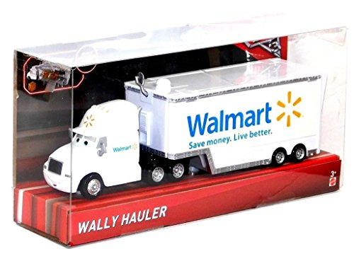 Disney/Pixar Cars Exclusive Die-Cast Vehicle Wally Hauler Walmart 1:55 Scale -