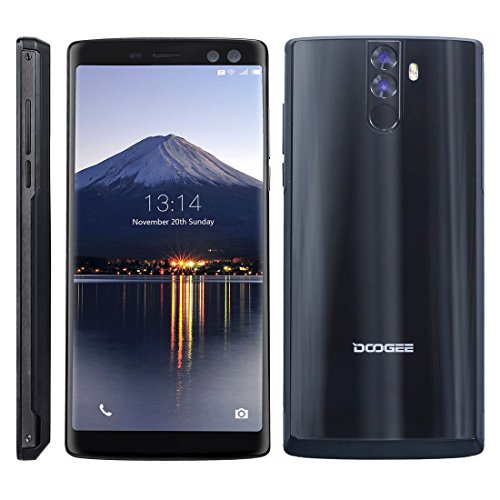 DOOGEE MIX 2 6GB+64GB 5.99 inch Android 7.1 Helio P25 Octa Core 1.64GHz + 2.5GHz WCDMA & GSM & FDD-LTE (Black)