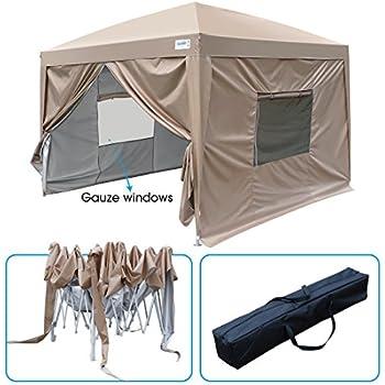 Amazon Com King Kingbird 8 X 8 Ft Easy Pop Up Canopy