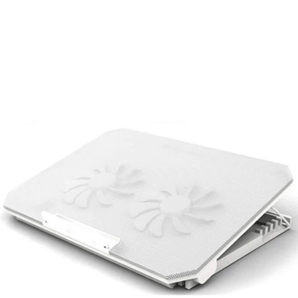 Bijibensanreqi Bloc-notes De Base R/églable For Ordinateur Portable L35 * W25 * H2.7 Cm Color : White Dissipateur De Chaleur De Refroidissement /À /Échappement Portable Support For Tablette