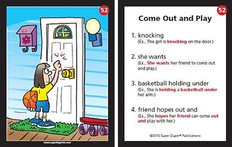 Amazon.com: Sentence Building Fun Deck Cards - Super Duper ...