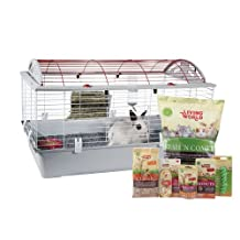 Living World Deluxe Rabbit Starter Kit, Large-96cm L X 57cm W X 56cm H (37.8-Inch X 22.4-Inch X 22-Inch)