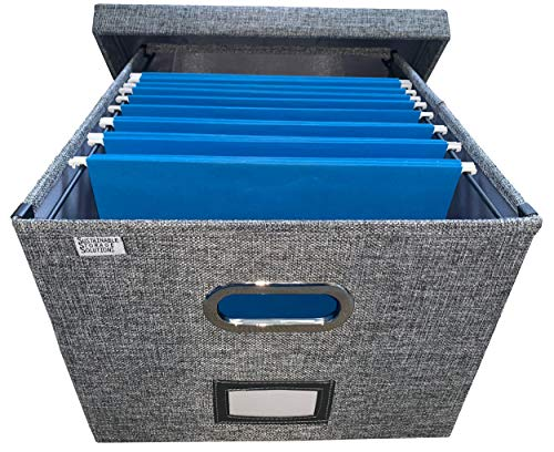 Collapsible File Box Storage