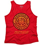 Gaston's Gym Cool Workout Exercise Funny Beauty Beast Disney Tank Top Shirt