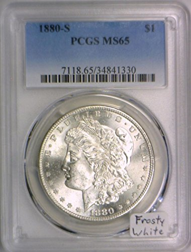 1880 S Morgan Dollar MS-65 PCGS