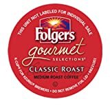 Folgers Gourmet Selections Classic Roast Coffee Keurig K-Cups, 108 Count
