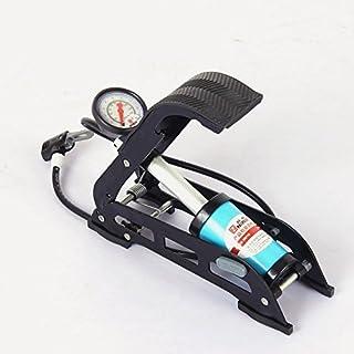 FANFAN Pompe À Pied À Haute Pression Portable Pédale Double Tube Pompe Voiture Pompe À Air Portable