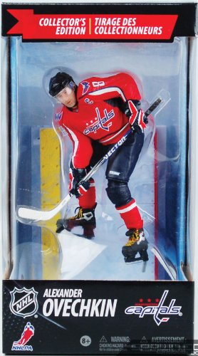 McFarlane Toys NHL Sports Picks 2010 (Canadian Exclusive): Alexander Ovechkin (Washington Capitals) Red Jersey