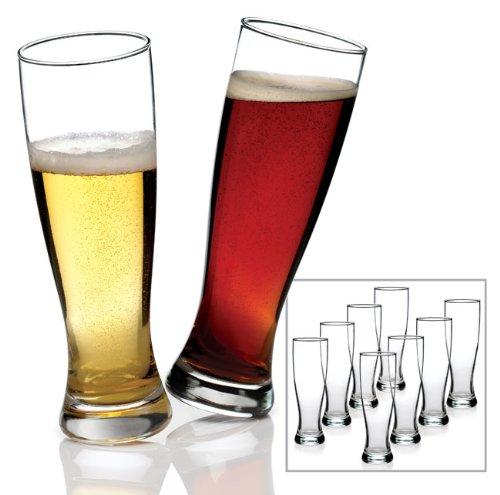 - Anchor Hocking Grand Pilsner Beer Glasses (Set of 8)