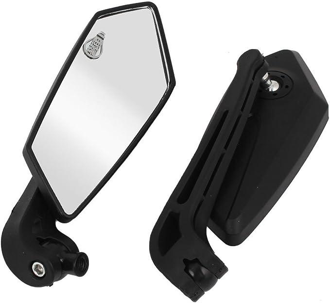 Soccik Universal Motorrad Rückfahrkamera Spiegel Lenkerendenspiegel Einfache Installation Motorrad Lenkerspiegel Rueckspiegel Auto