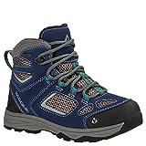Vasque Kid's Breeze III UltraDry Hiking Boots Crown Blue/Columbia 4 M
