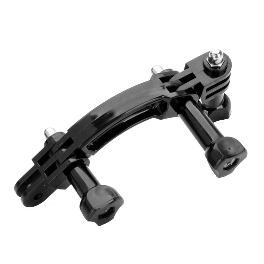 Wokee Rotary Curved Extension Arm Erweiterung + 90 Grad Drehstecker Kette fü r GoPro Hero 2 3 + 4 5